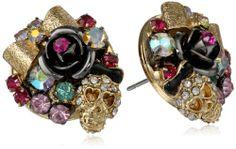 "Betsey Johnson ""Frontal Toggle Cluster"" Skull and Bow Cluster Stud Earrings Betsey Johnson,http://www.amazon.com/dp/B00D9BQ0D8/ref=cm_sw_r_pi_dp_pEbLsb0WMEDABFFV"