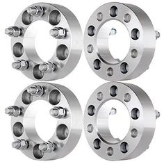 """REQUIRED that youCheck your vehicle compatibility in Product Description BEFORE buying * 4pcs brand new wheel spacers.Each Spacer would be 1.5"""" Wide Hub Bore Size 82.5mm Bolt Pattern 5x4.5 to 5x4.5 Thread Pitch 1/2"""" x 20 * (Placed within the Amazon Associates program) * 16:41 Mar 16 2017"""