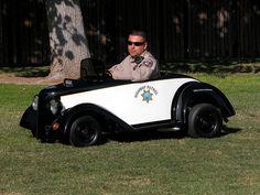 California Highway Patrol Go Kart by lapd5150policemotor*, via Flickr