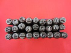 """2013 hot sale 1/8"""" 3 MM Capital Letter A-Z Punch Stamp Set 27 Piece ,jewelry making tools $9.90"""