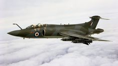 Robust carrier-borne strike aircraft which served with distinction with the Royal Navy and subsequently with the RAF. Military Jets, Military Aircraft, Blackburn Buccaneer, Aircraft Images, Experimental Aircraft, Royal Air Force, Royal Navy, Vintage Pictures, Wwii