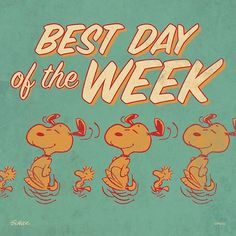 "34 mil Me gusta, 159 comentarios - Snoopy And The Peanuts Gang (@snoopygrams) en Instagram: ""The best day of the week! #TGIF"""