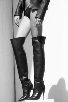ab136d2dfa 8 Best Ladies over the knee boots images | Over the knee boots, Long ...