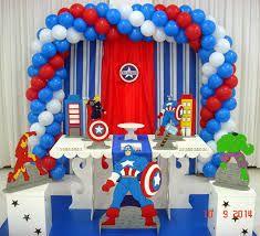 Resultado de imagem para festa infantil capitão america Birthday Celebration, Captain America, Birthday Candles, First Birthdays, Avengers, Cake, Captain America Party, Superhero, Marvel Birthday Parties