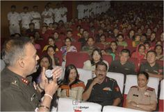 Awareness programme organized at Chandimandir Military Station to discuss  issues related to Depression & Prevention of http://Suicides.pic.twitter.com/sCX0HaMFwp #IndianArmy #Army
