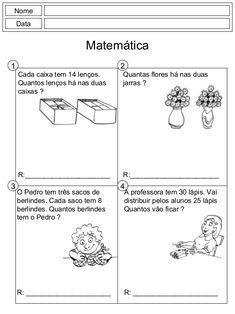 Resultado de imagem para problemas matemáticos 2o ano