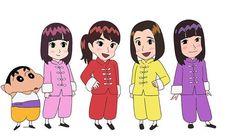 Momoiro Clover Z to Also Appear in Crayon Shin-chan TV Anime