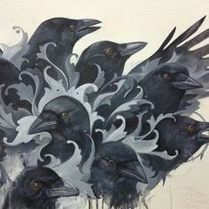 Crows Ravens:  #Crows.