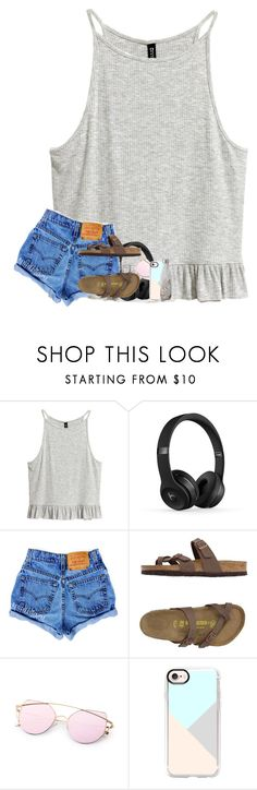 """""""what's your favorite type of shoes??"""" by jada-bug ❤ liked on Polyvore featuring Birkenstock, Casetify and S'well"""