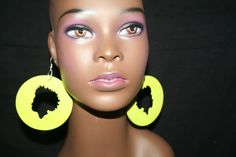 Hey, I found this really awesome Etsy listing at https://www.etsy.com/listing/156844533/afro-girl-wooden-africa-earring-tribal