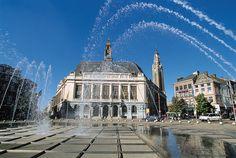 Charleroi, Belgium:geweldig miskend en vergeten belfort!