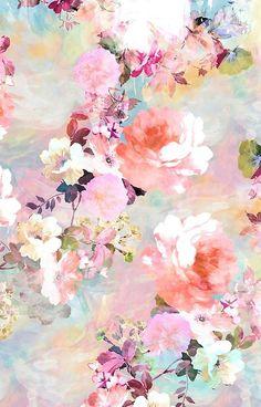 Wallpaper Pastel, Floral Wallpaper Phone, Pastel Background Wallpapers, Free Iphone Wallpaper, Flower Backgrounds, Pretty Wallpapers, Flower Wallpaper, Wallpaper Art, Iphone Backgrounds
