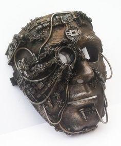 steampunk  Bionic eye mask por richardsymonsart en Etsy