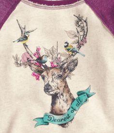 H&M deer print