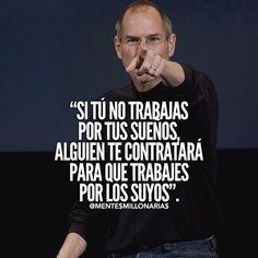 Actitud Reflexion Metas. Steve Jobs.