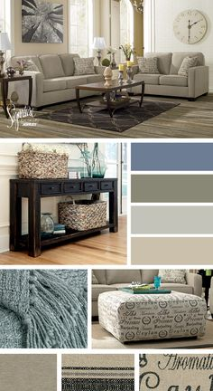 Alenya Sofa & Loveseat - Vintage Style - Living Room - Ashley Furniture