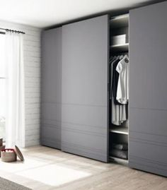 If you are trying to find a wardrobe for your desire room, right here are some great style wardrobe motivations in your room. Wardrobe Interior Design, Wardrobe Design Bedroom, Bedroom Furniture Design, Bedroom Decor, Sliding Door Wardrobe Designs, Closet Designs, Bedroom Cupboards, Bedroom Cupboard Designs, Bedroom Wardrobe