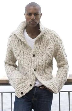 MADE TO ORDER MODEL Mens Hand Knit Aran Cardigan. ============================================ - MANY YEARS of KNITTING EXPERIENCE - HUNDREDS of SATISFIED CUSTOMERS. - PREMIUM QUALITY YARNS - ORDER WILL BE DONE IN 3-4 WEEKS. - ANY SIZE and ANY COLOR.(SEE PICTURES) - BUTTONS COULD BE DIFFERENT  ===== CUSTOM ORDERS ARE WELCOME ===========  If You have a photo or drawing of the item that You dream of,  We will knit it. ============================================== SIZING GUIDE  SIZE XS: Chest…