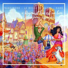 Il gobbo di Notre Dame in tv Disney Pixar, Film Disney, Images Disney, Walt Disney Pictures, Citations Disney, Notre Dame Disney, Esmeralda Disney, Collection Disney, Disney Addict