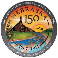 New Nebraska Seal Unveiled----- Nebraska State, Lincoln Nebraska, Nebraska Cornhuskers, Oklahoma, North Platte, Education Humor, Animal Quotes, Social Studies, Missouri