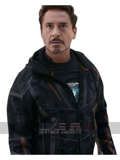 Jackets can be a very important component to every single man's clothing collection. Men need to have jackets for a number of situations and several weather conditions Sherlock Outfit, Iron Man Movie, Iron Man Avengers, Revival Clothing, Man Movies, Cotton Jacket, Avengers Infinity War, Tony Stark, Hoodie Jacket