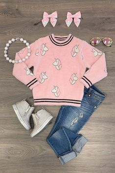 Take A Look At This Great Fashion Information! Little Girl Outfits, Kids Outfits Girls, Toddler Outfits, Cute Outfits, Baby Girl Fashion, Cute Fashion, Kids Fashion, Cute Baby Clothes, Doll Clothes