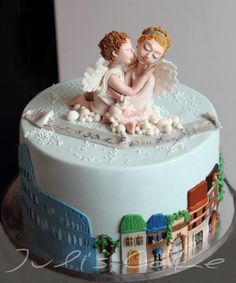 Italian themed birthday cake Birthday Cakes Pinterest ...