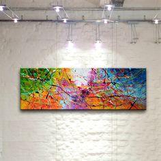 SALSA abstraktes Gemälde Bilder Kunst Malerei bunt