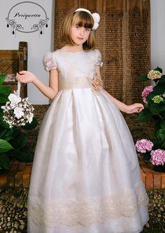 #comunion #periquetta Preciosa falda en seda rústica