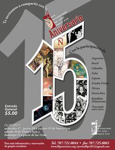 Feria Internacional del Libro-Puerto Rico 2012: Programa Cultural.