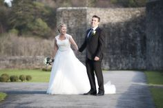 Wedding photos around the grounds of Ashford Castle Ireland. Photo by Dillon Photography Wedding by Waterlily Weddings Ireland