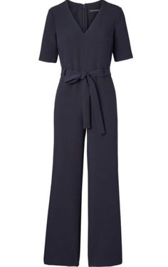 6bdc86b1253 Banana Republic Women s V-Neck Jumpsuit Navy Size 2P NWT  148  fashion   clothing  shoes  accessories  womensclothing  jumpsuitsrompers (ebay link)