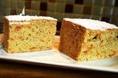 Yumuşacık Havuçlu Tarçınlı Kek (Pastane Usulü) Tarifi
