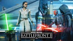 Star Wars Battlefront 2 - Heroes vs Villains Gameplay! ALL 14 Heroes! Kylo Ren, Darth Vader, Yoda!