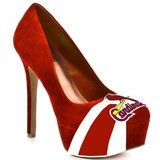 St Louis Cardinals high heels 2 days left to win them for your own, or save $10 using promocode onpinterest... Bummer tho they don't come in 5s for me and my small feet :(