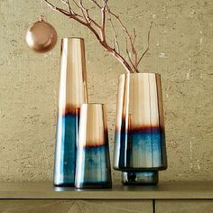 Ombre Mercury Vases #westelm