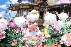 Hello Kitty's Family ^o^ http://www.puroland.jp/