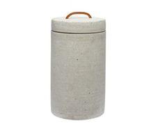 Jar with lid by Hübsch Denmark