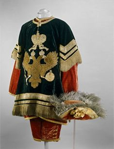 Ceremonial Men's Dress of the Russian Imperial Court, 1721-1917 from the collection of the Moscow Kremlin Museums