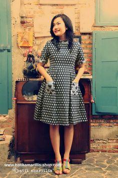 batik amarillis's it girl dress  www.batikamarillis-shop.com