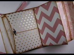 6x9 Printable Envelope Album or Junk Journal - YouTube --- really GOOD tutorial for making this pocket book