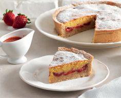 Torta al farro con frangipane e fragole (La Cucina Italiana - Anteprima maggio ricetta della domenica)