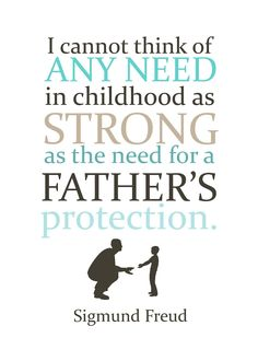 ....and Spiritually Speaking: A Father's Protection
