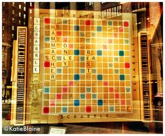 February 11: The World's Largest Scrabble Board!