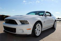 Get Your Heart Racing 2013 Shelby GT500 Mustang to be Auctioned at Barrett-Jackson