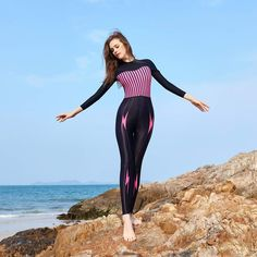 ZCCO Rash Guard Womens Long Sleeves UV Sun Protection Sport Dive Skin Full Suit Ladies Adult's Swimsuit Swimwear for Swimming Surfing Scuba Diving Snorkeling Tri Suit, Leather Shorts, Swimsuits, Swimwear, Snorkeling, Leotards, One Piece Swimsuit, Wetsuit, Rash Guard