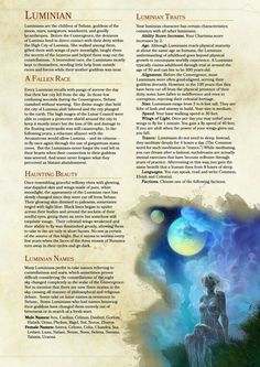 DnD cool moon people race - Homebrew material for edition Dungeons and Dragons made by the community. Dungeons And Dragons Races, Dungeons And Dragons Classes, Dungeons And Dragons Characters, Dungeons And Dragons Homebrew, Dnd Characters, Dnd Dragons, Dnd 5e Races, D D Races, Dnd Classes