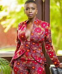 Résultats de recherche d'images pour «veste en pagne africain pour femme»