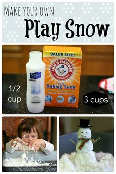 Play Snow {Sensory Activity}