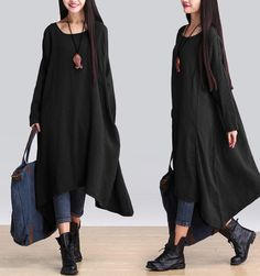 http://www.buykud.com/products/casual-loose-irregular-linen-long-sleeve-dress?variant=10185695171